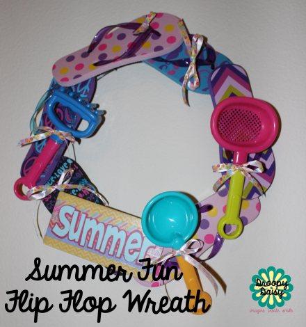 Summer Fun Flip FlopWreath